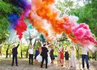 Цветной дым для свадьбы в Актау